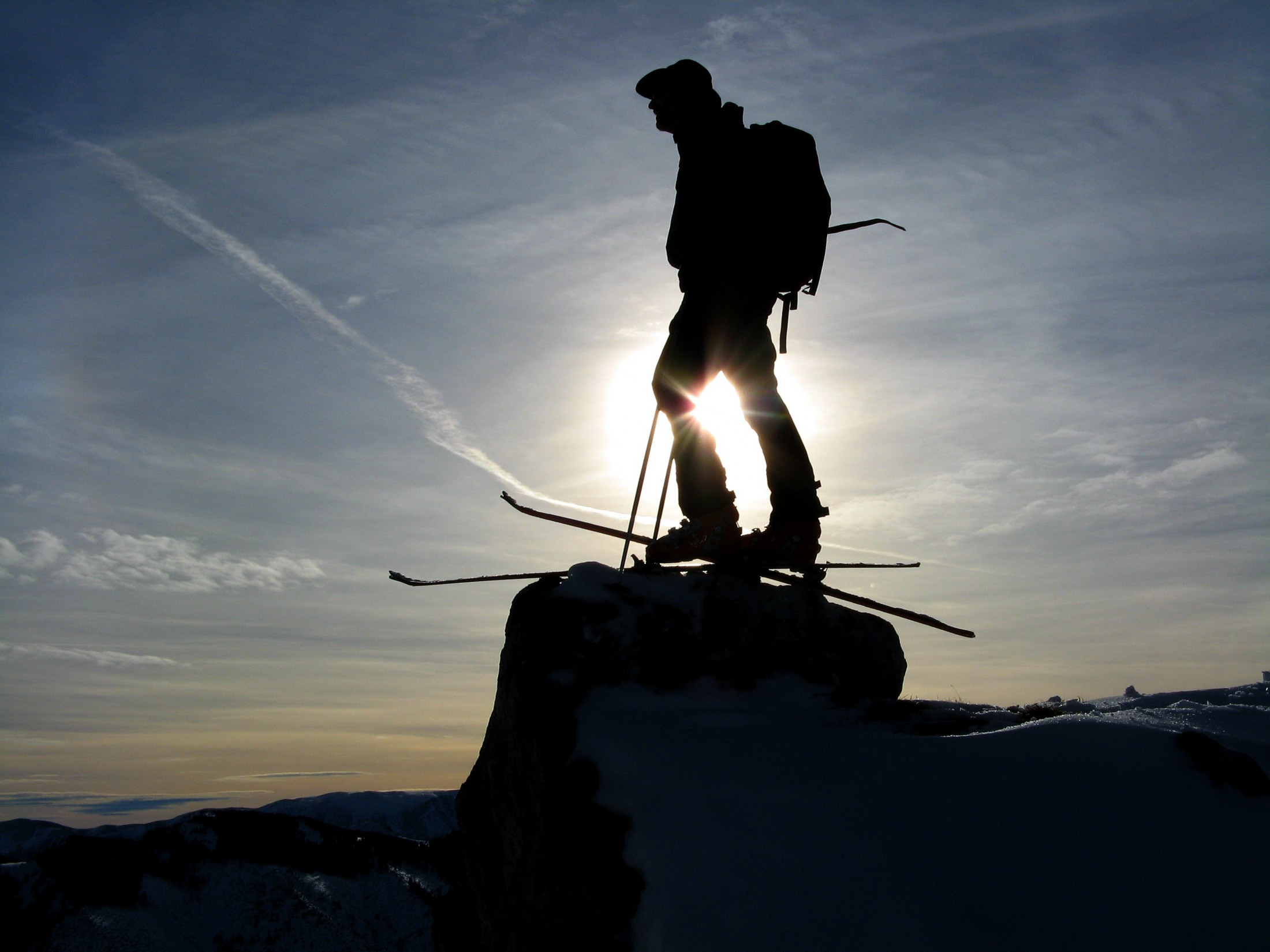 Advanced ski touring week