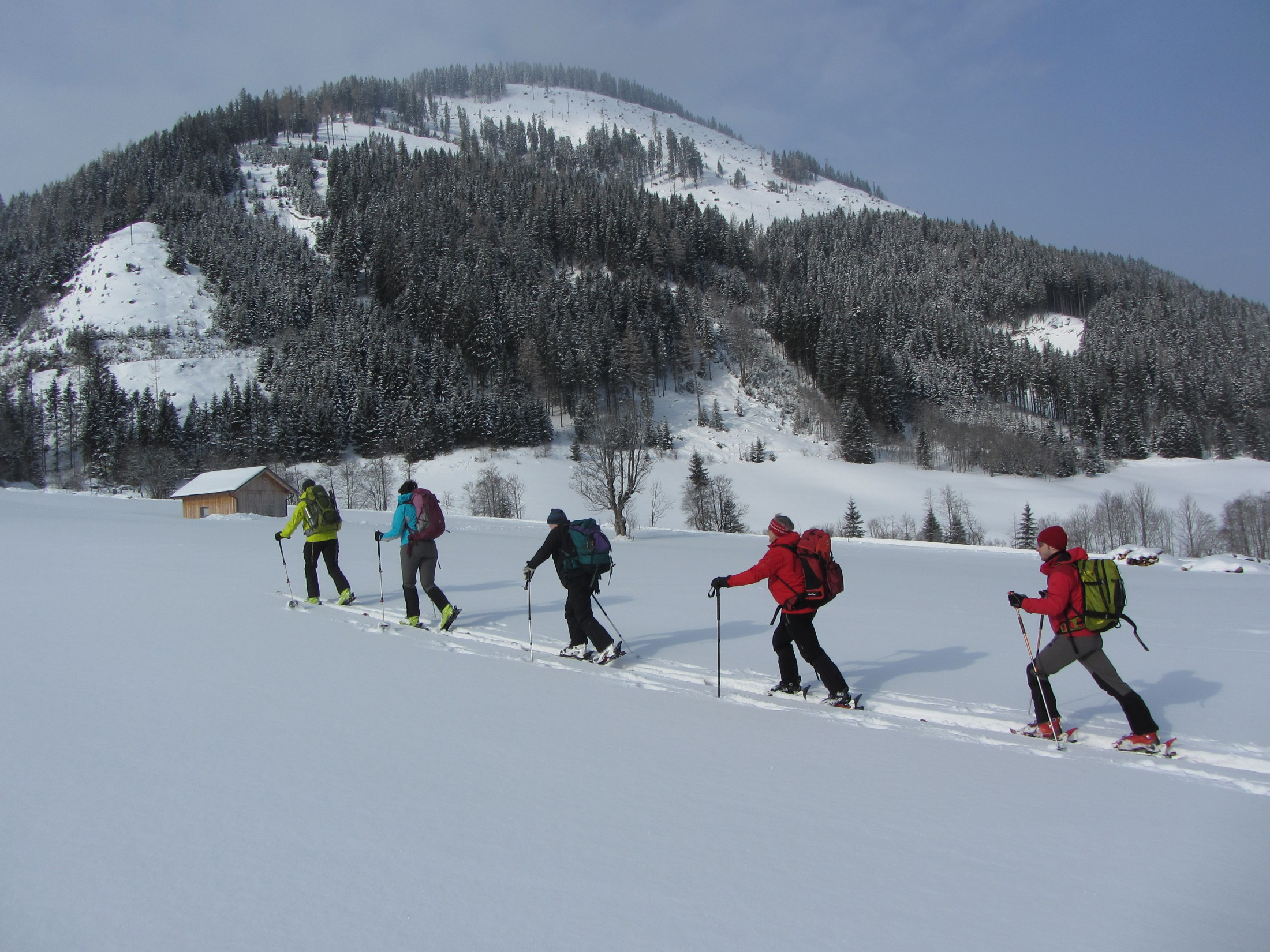 Skitouring-Course taught in English